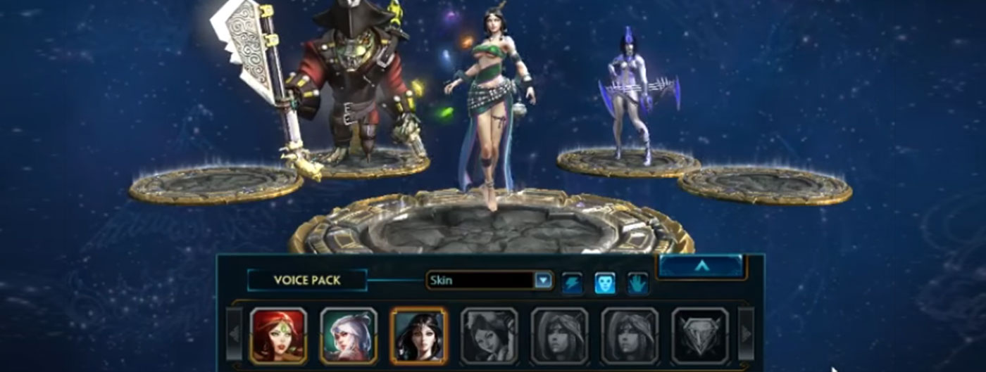 Nu Wa Water Dancer Skin